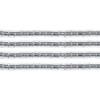 Delica 15/0 Rd Grey Silver Lined